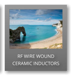 RF WIRE WOUND CERAMIC INDUCTORS